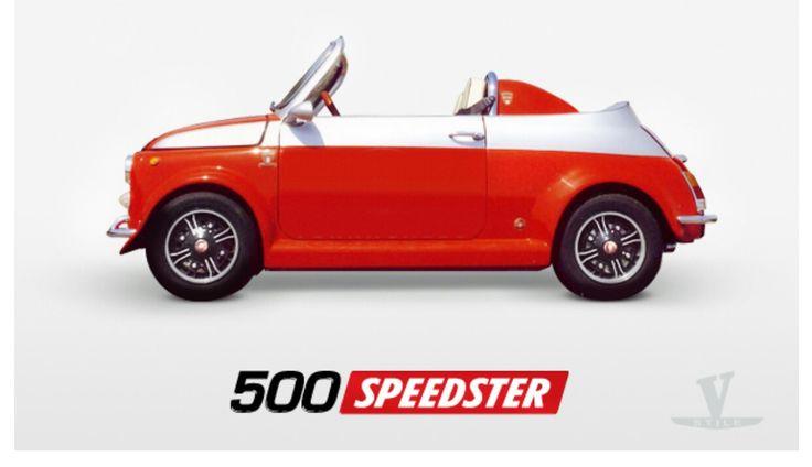 FIAT 500 SPEEDSTER BY VERNAGALLO COMPANY-WWW.VERNAGALLO.IT