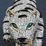 Vintage c1970 ILLARIO Bulgari Bvlgari Moi et Toi Colombian Emerald Diamond Ring