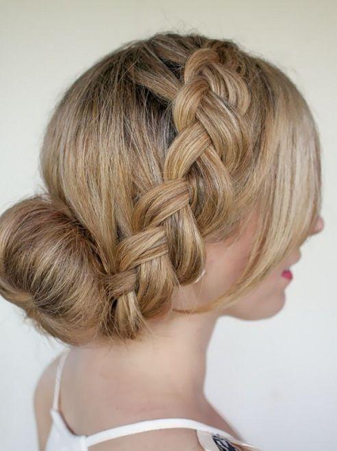 Yunan Saç Örgüsü ve Örgülü Saç Stilleri - Kadının güzelliğini ve çekiciliğini sağlıklı ve bakımlı saçlar göstermektedir.