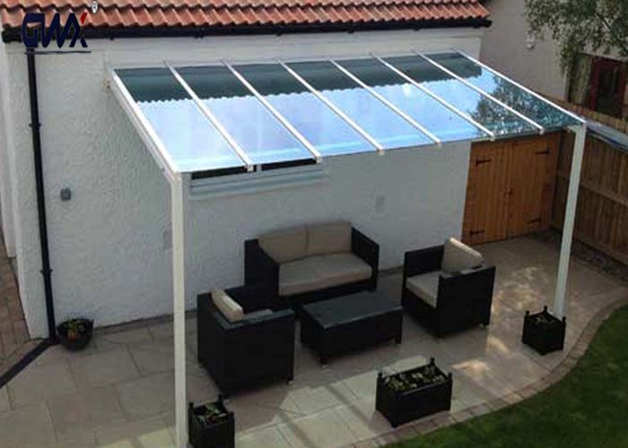 3 5 Thickness 2 1 Width Blue Polycarbonate Roofing Panels