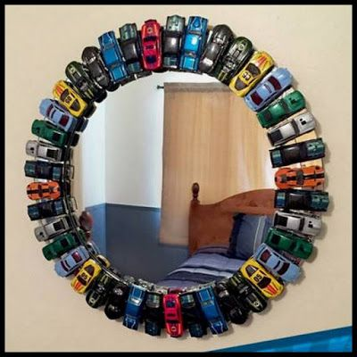 Dollar Store Crafter: Turn Hot Wheels Or Match Box Cars Into This Awesom...