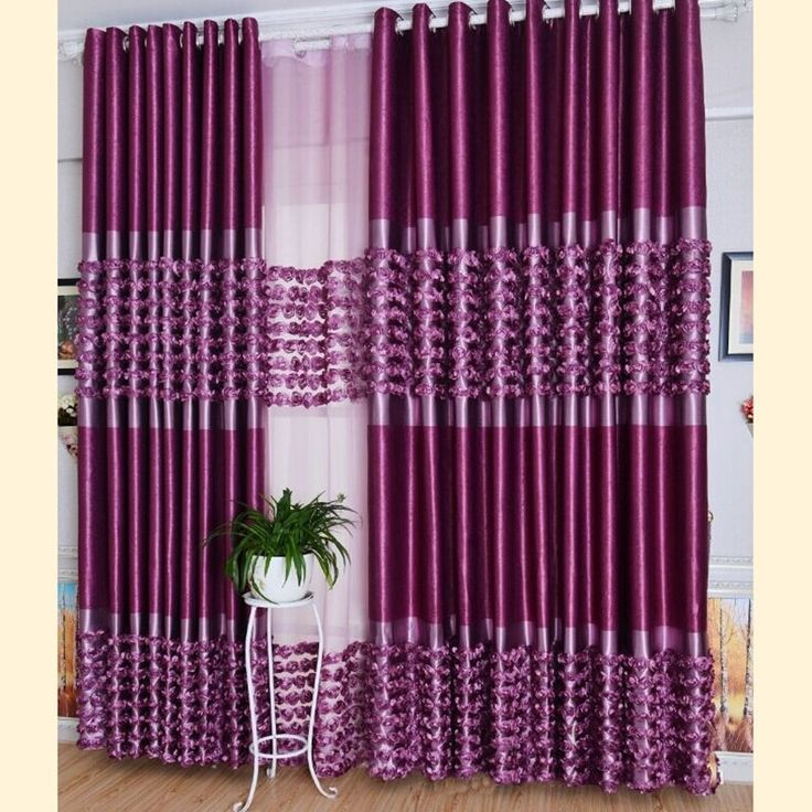 Rose Shaped Solid Curtain For Bedroom Living Room Velvet Curtains For Children Blackout Curtains Window Treatments Blinds Kids