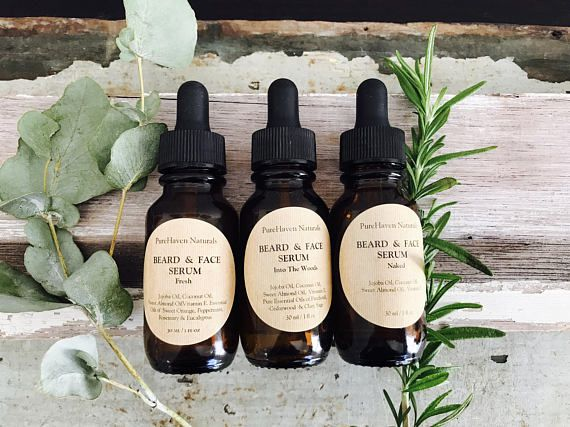 Men's Beard Oil/Face Oil. Natural Plant-Based Men's