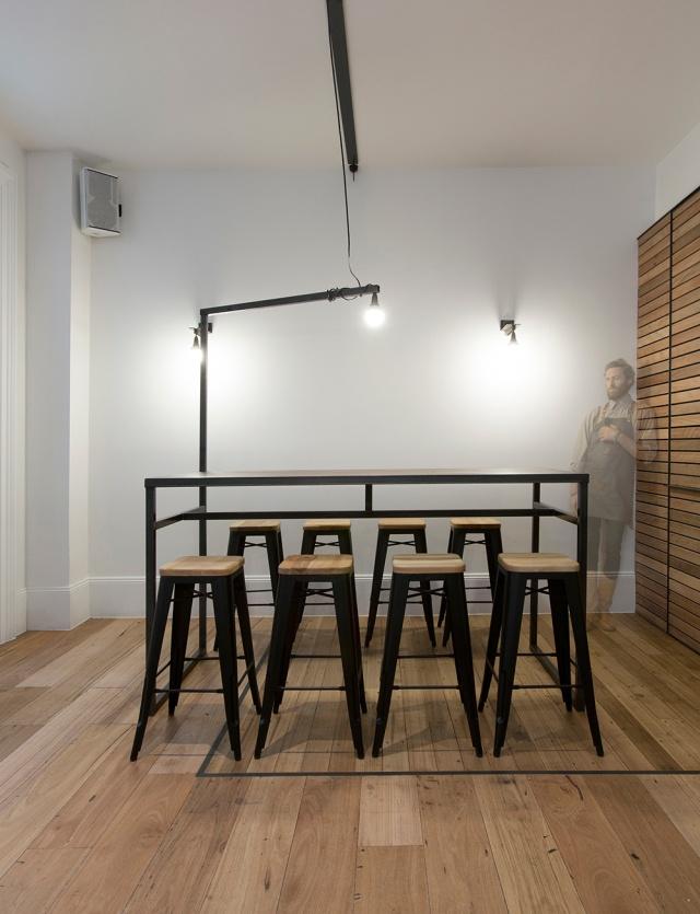 Captain Melville Restaurant & Bar by Breathe Architecture // Melbourne.