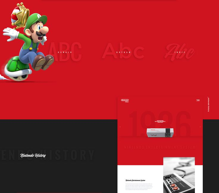 Nintendo Classics on Behance