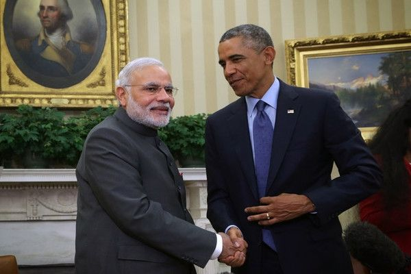 Narendra Modi meet US Prez Barack Obama http://www.bangalorewishesh.com/378-news-headlines/36886-narendra-modi-meet-us-prez-barack-obama.html  Barack Obama, the President of United states joined along with India PM Narendra Modi to attend he 12th ASEAN-India Summit here in Myanmar. Narendra Modi and Barack Obama have met each other for the second time with-in just six weeks at a Gala Dinner in Myanmar
