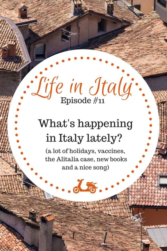 The month of April has been full of relaxing days off, but saw some issues as well. I'm writing about all of this and more in this post, which is about all the things that happened in Italy in the month of April.