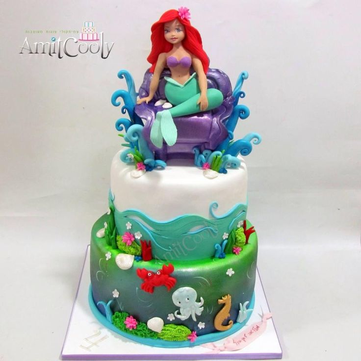 233 best Mermaid Under sea cakes images on Pinterest Biscuits