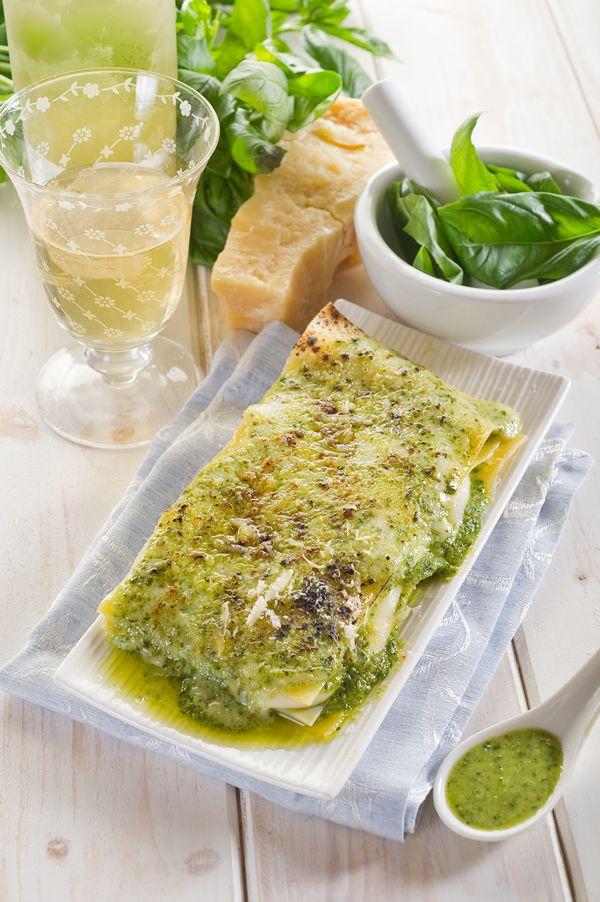 Lasagne al pesto on #dietapersonalizzata #dieta #alimentazione #maria-papavasileiou #dietologa-milano