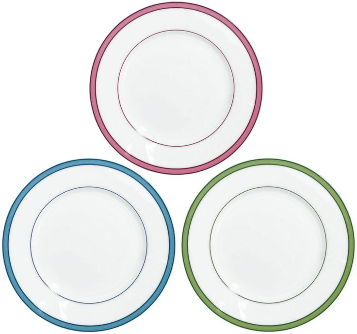 #Raynaud - Limoges #porcelain - the 3 colors of the Tropic collection