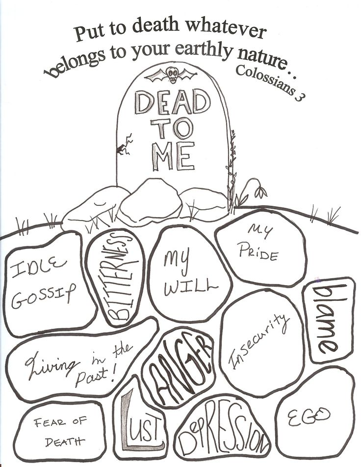 coloring pages christian halloween - photo#22