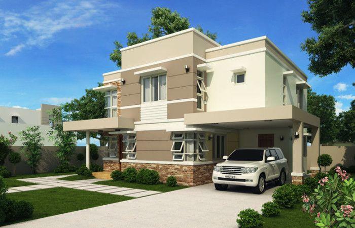Modern House Design Series: MHD-2012006 | Pinoy ePlans - Modern House Designs, Small House Designs and More!