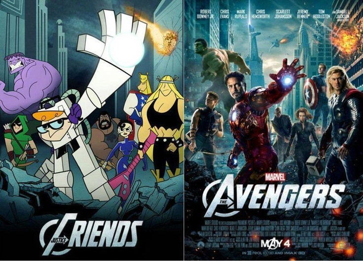 yes! :): Copy Dexter, Dexter Labs, Stuff, Funny, Geeky Things, Big Bangs, Dexter Laboratory, Justice Friends, The Avengers