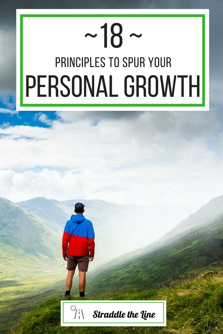 18 principles and tips to help millennials spur their personal growth.