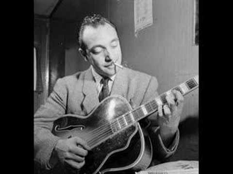 Honeysuckle Rose. Django Reinhardt, at the end of his career, playing with Duke Ellington.