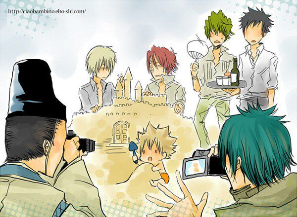 Vongola I Family cute pic