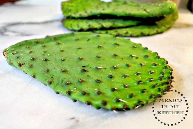 Mexico in my Kitchen: How to Cook Cactus Paddles (Nopales) / Cómo Cocinar Nopales|Authentic Mexican Food Recipes Traditional Blog