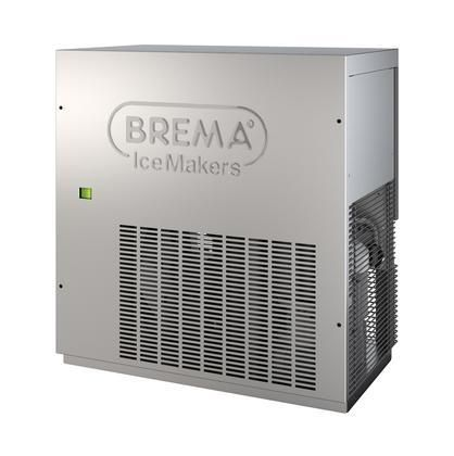 G280A Ice Maker by Brema Flakes Style all Stainless steel and air cooling system with Production up to 617 lbs. Per 24 hr
