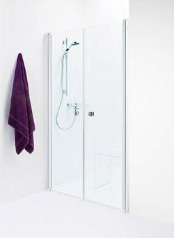 TBC Bath Showerama 8-0 Душевые двери, узорчатое стекло, 1100 мм, (2шт.) 1100х1950 мм - Описание изделия