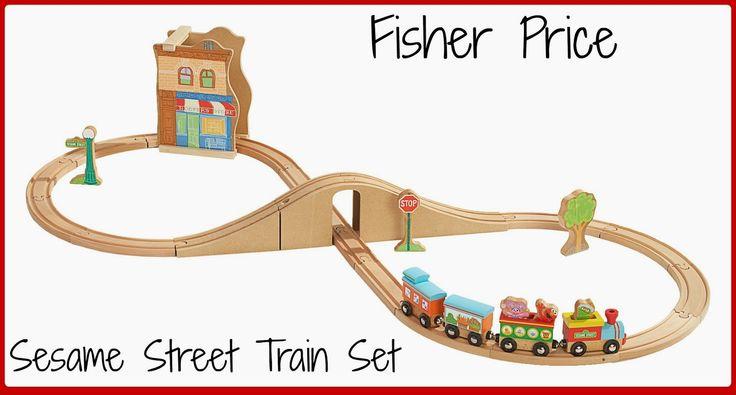 Fisher Price Sesame Street Train Set