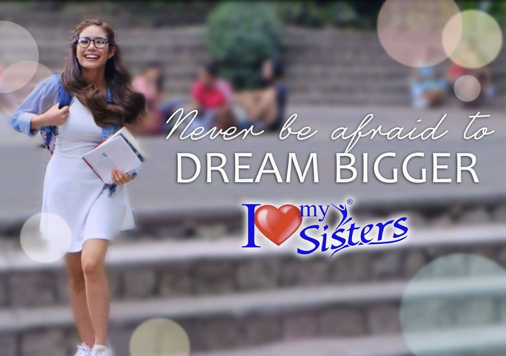 Dare to be more with confidence with Sisters! 😉❤️💃🌟 #SistersPH #ILoveMySisters #StandProud #WeAreOneWeAreSisters