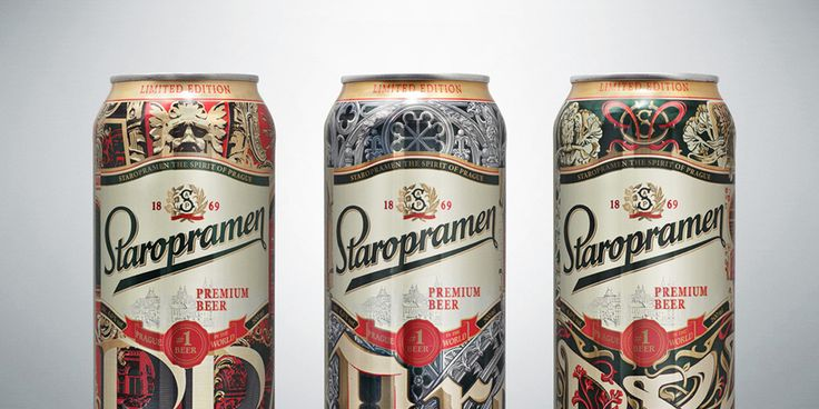 """The history of the Czech beer Staropramen is deeply connected to its  origins and, if asked """"What is at the heart of the brand?"""" the answer would  be the capital of the Czech Republic, Prague.  True to these words, SUN InBev Ukraine asked agency BBDO Ukraine to create  a limited edition of cans inspired by the architecture of Prague by its  legends."""