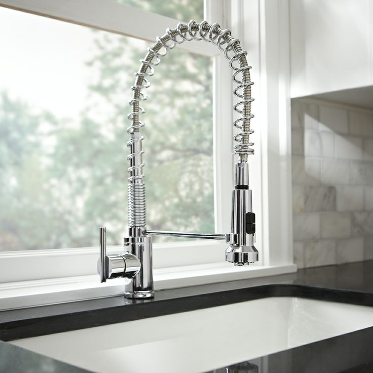 danze parma pre rinse spring faucet for the kitchen