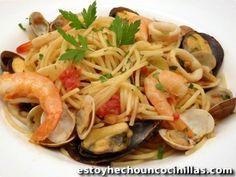 Recette de spaghetti aux fruits de mer (spaghetti frutti di mare)