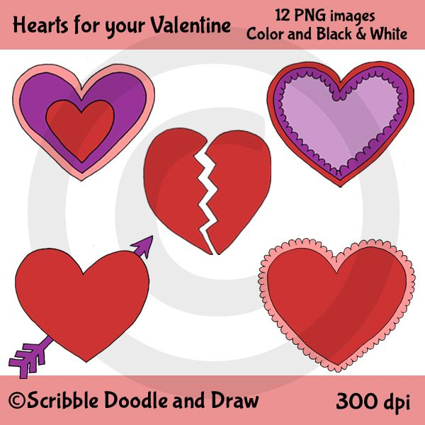 Free Clip Art Valentine S Day Hearts For Personal And