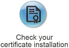 Thawte SSL Certificate Installation Checker | Thawte