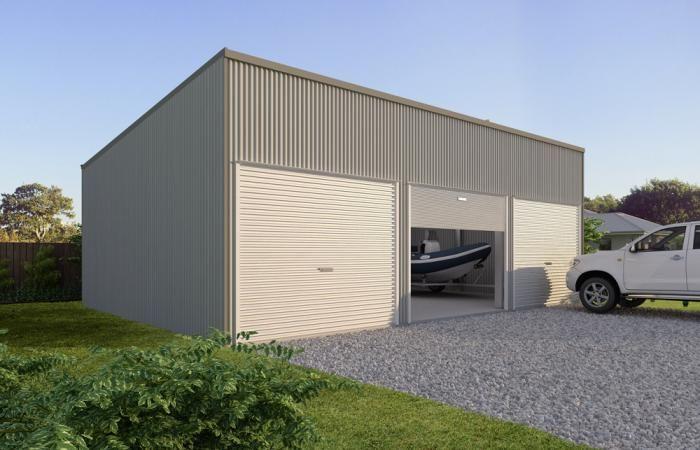 Custom Skillion Garages 6