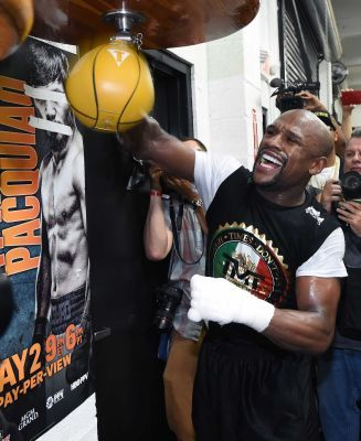 A look at the TV schedule from HBO during fight week for Floyd Mayweather Jr.