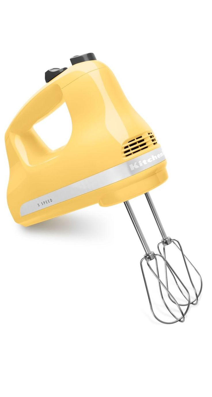 Mix your holiday cookie batter with this cute KitchenAid hand mixer.