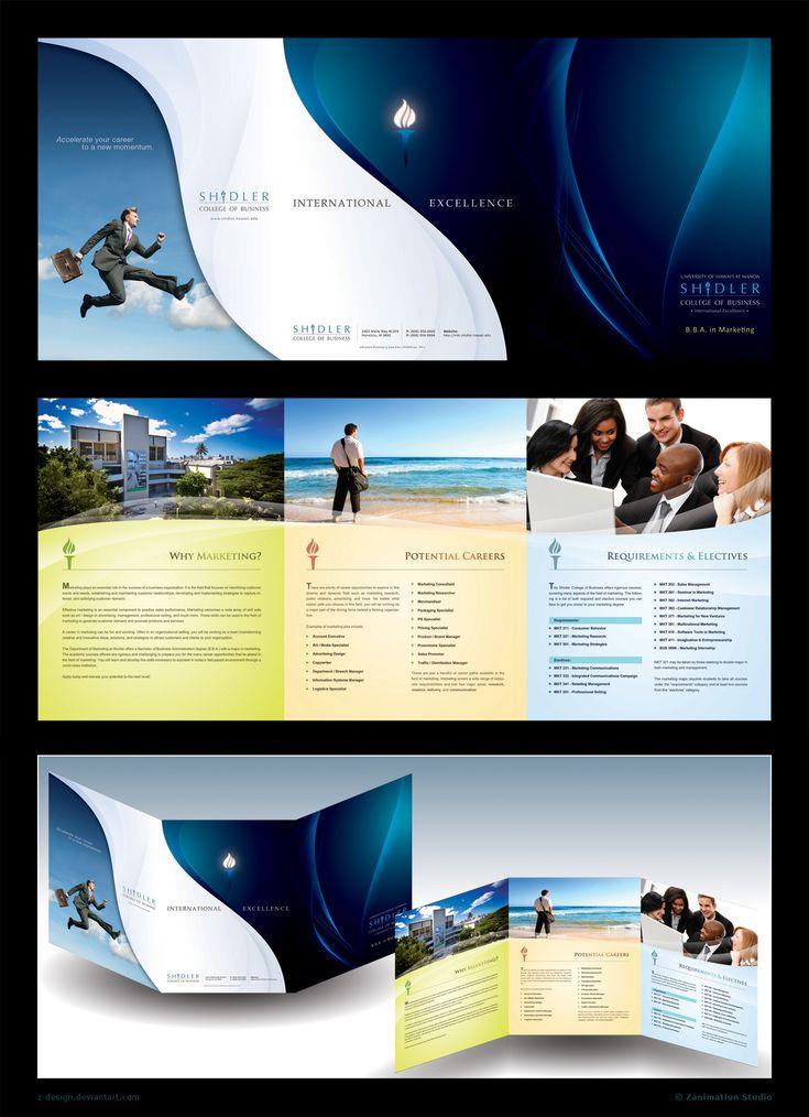 17 best brochure ideas images on Pinterest Brochure ideas - microsoft word tri fold brochure
