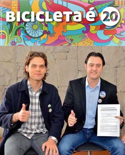 Estive com o Jorge Brand, presidente da Associação Cicloguaçu, aonde assinei uma carta de compromisso para incentivo ao uso das bicicletas. Não adianta apenas falar quem vai fazer mais quilômetros de ciclovias. Temos que compartilhar as ruas e avenidas de Curitiba com os ciclistas. Vamos fazer bicicletários nos terminais de ônibus e dar incentivos fiscais para as empresas que contratarem funcionários que moram próximo, possibilitando que a pessoa vá trabalhar a pé ou de bicicleta.