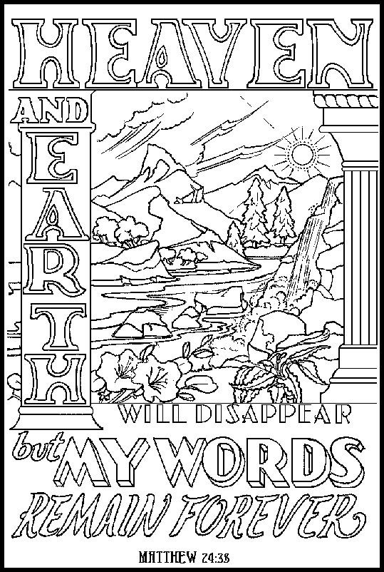 342 best images about Bible Story Coloring Pages on ...