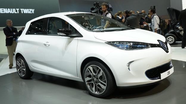 Carro Eléctrico Renault Zoe