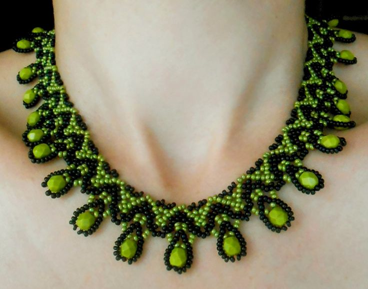 Free pattern for necklace Daniela | Beads Magic