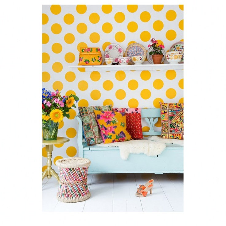 Retro Bedroom Wallpaper Bedroom Ideas Yellow Walls Eclectic Bedroom Decorating Ideas Kids Bedroom Wallpaper Designs: 17 Best Images About Mijn Kleur: Geel