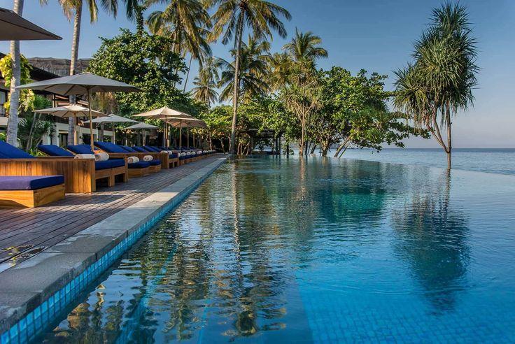 Lombok Hotel Photography - Katamaran Resort - pool and ocean views