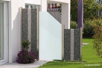 Sichtschutz - Galerie - Gabionen Martino Design