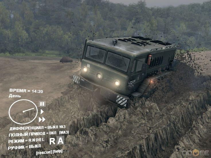 Spintires PC Game Screenshots