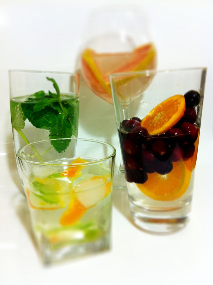 How to Make Naturally Flavored Water - These recipes are especially great for those that are used to drinking juice or pop and are trying to make a change