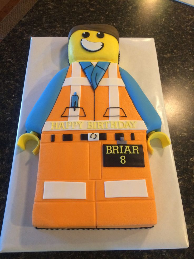 Lego Movie S Emmet Cake My Cakes Pinterest Lego Cake