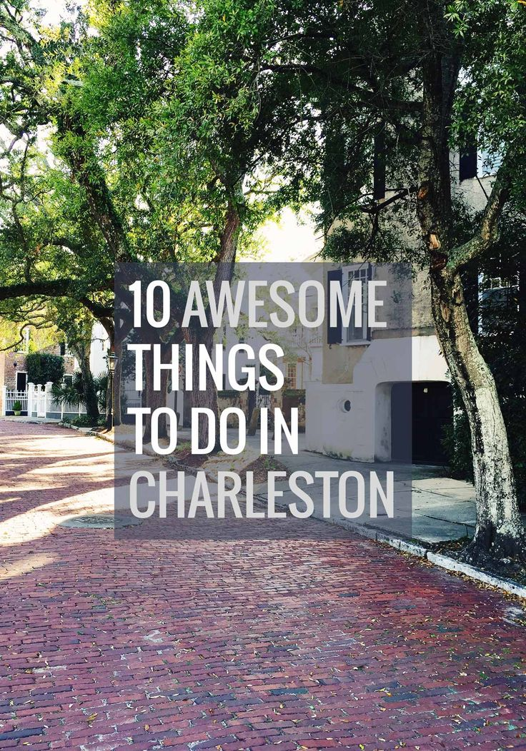 ten awesome things to do in charleston restaurant