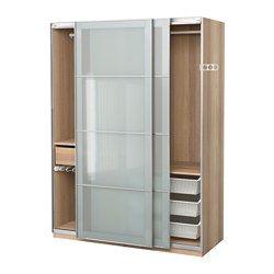 IKEA - PAX, Spinta, 150x66x201 cm, švelnaus uždarymo mechanizmas, , 10 metų garantija. Apie sąlygas skaitykite garantijos buklete.Su PAX planavimo programa visai paprasta priderinti PAX/KOMPLEMENT derinius prie savo poreikių ir namų stiliaus bei erdvės.Kai baldas su stumdomosiomis durimis, jis užima mažiau vietos, nes nereikia palikti erdvės durims patogiai darinėti.Švelnaus uždarymo mechanizmas prilaiko dureles, kad jos užsidarytų lėtai ir tyliai.Papildomai įsigijus vidinių detalių…