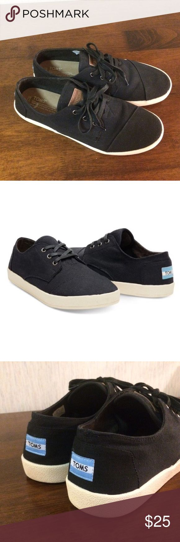 Toms Paseo Sneaker Casual Shoes - 11.5 Only worn a few times. Toms Shoes