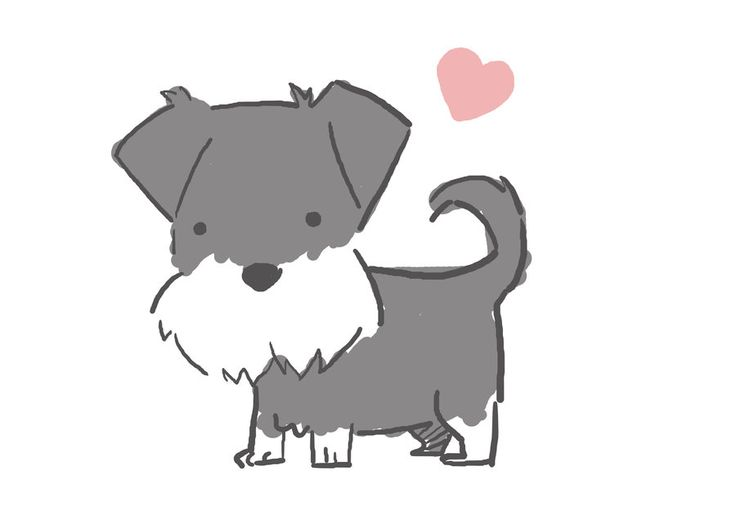 Schnauzer Drawing Easy: 313 Best Images About Kawaii On Pinterest