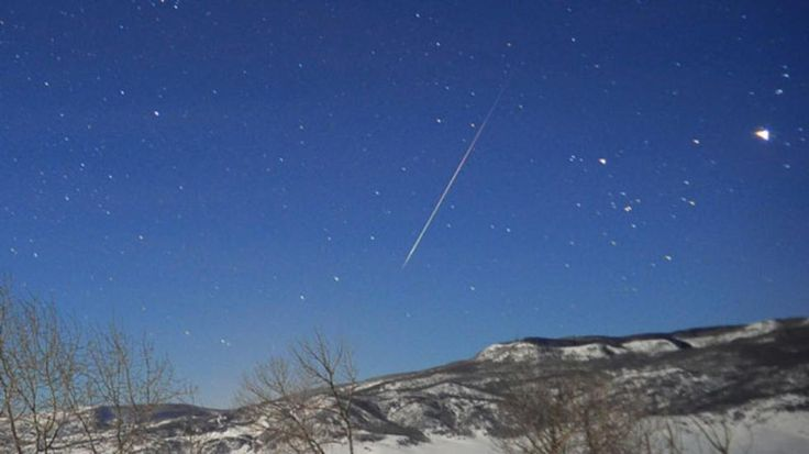 Quadrantids Meteor Shower to Streak Across Skies Sunday Night | The Weather Channel
