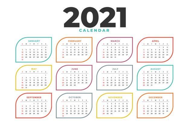 مجان ا تحميل تقويم ميلادي 2021 Pdf للطباعة نتيجة عام 2021 بالعربي نتعلم Calendar Template Calendar Design Template Calendar